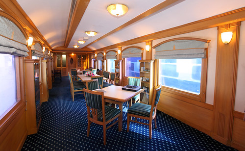 The Indian Maharaja, Deccan Odyssey - Conference car | by Train Chartering & Private Rail Cars