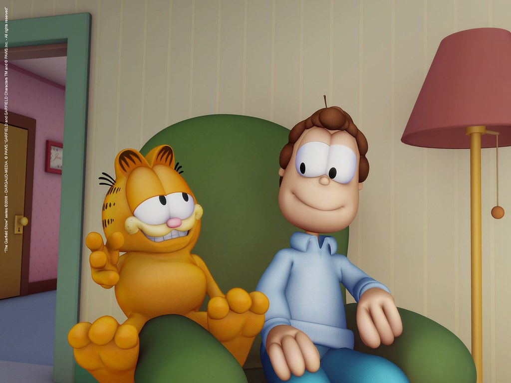Garfield And Jon Http Www Thegarfieldshow Com Garfield Flickr