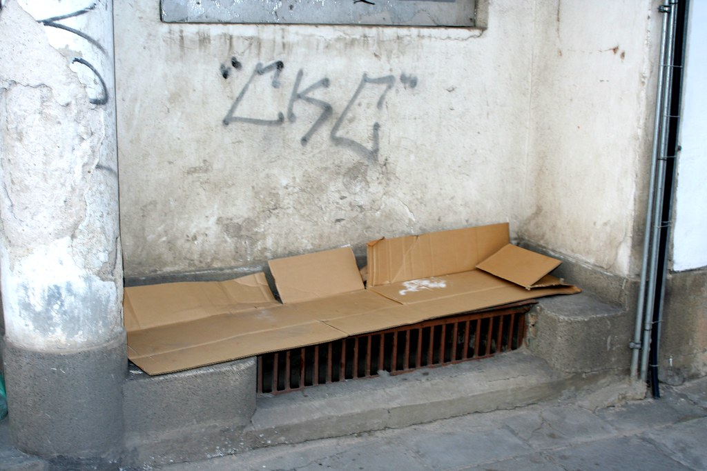 Astounding Homeless Bed Piece Of Found Art Sofia Bulgaria 2009 Ca Complete Home Design Collection Barbaintelli Responsecom