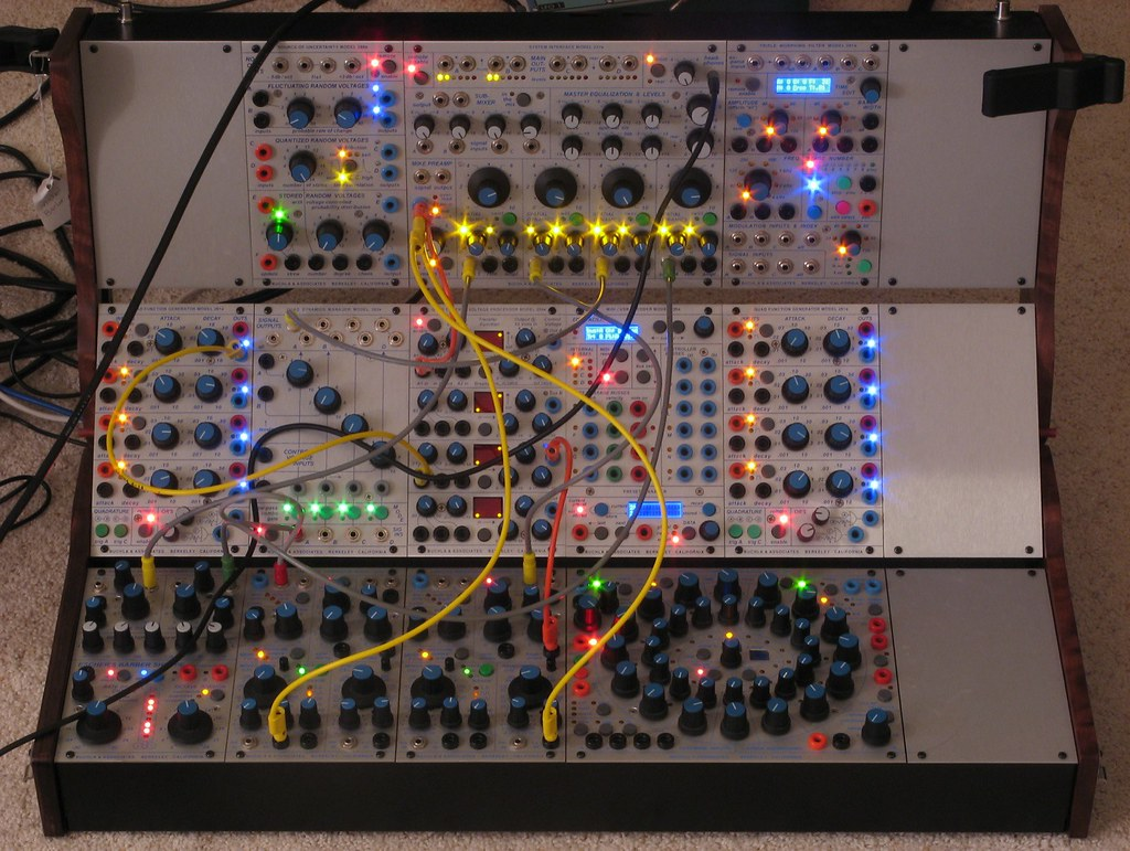 Buchla 200e Electric Music Box - modular synthesizer | Flickr