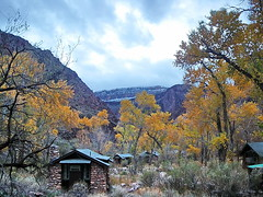 Phantom Ranch - late Autumn - Grand Canyon