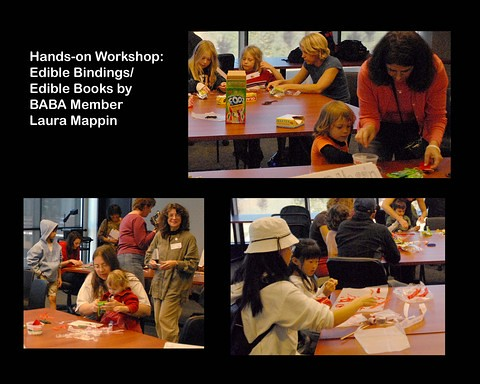 Book Arts Jam 2007 - Edible Bindings - slide 8
