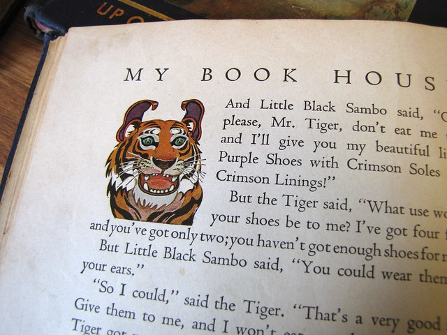My Book House: Tiger's ears