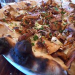 Chanterelle and Gremolata Pizza