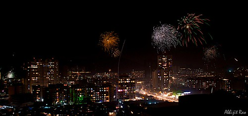 Diwali Lights and Fireworks by _quasi