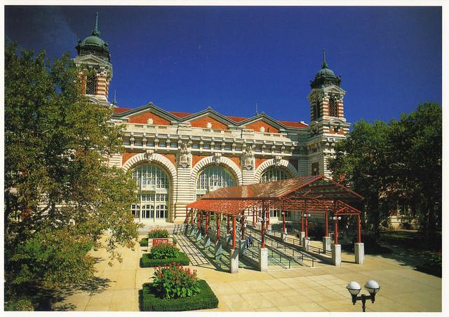 Ellis Island Museum Postcard