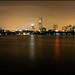 Skyline nocturno de Boston by guillenperez