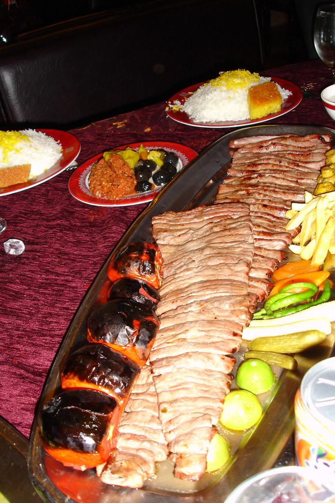 Chelo Kebab For The Recipe Kabab Barg