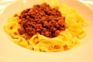 """Mitiche tagliatelle al ragu della """"Gigina"""", aka the best bolognese in the world"""