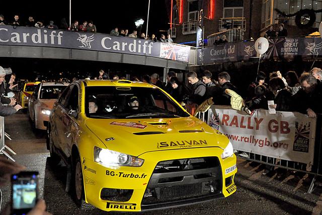 Rally GB start 8