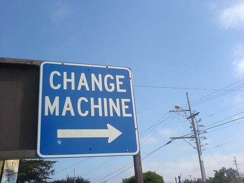 change machine   by tracyshaun