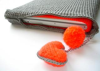 my crochet laptop bag | by natalie birkle