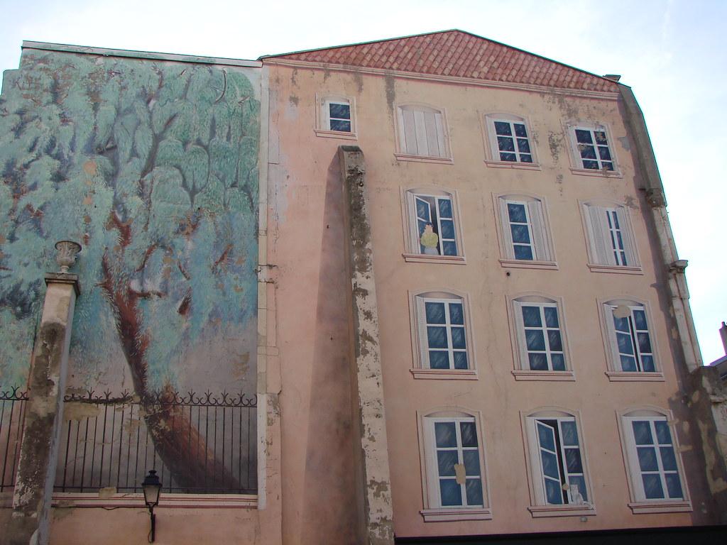 nancy mur trompe l 39 oeil peinture en trompe l 39 oeil sur. Black Bedroom Furniture Sets. Home Design Ideas