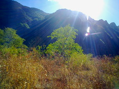 Climbing the mountains in Chihuahua
