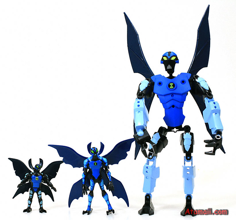 Lego Big Chill Ben 10 Alien Force Toy The Lego Big Chill B Flickr