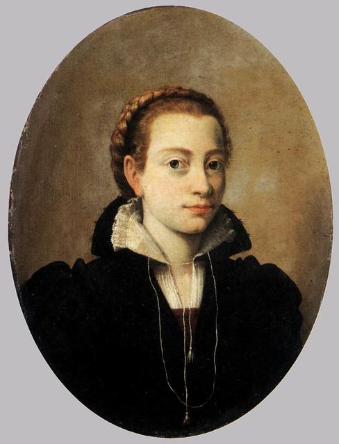 Portrait of Minerva Anguissola [1564]