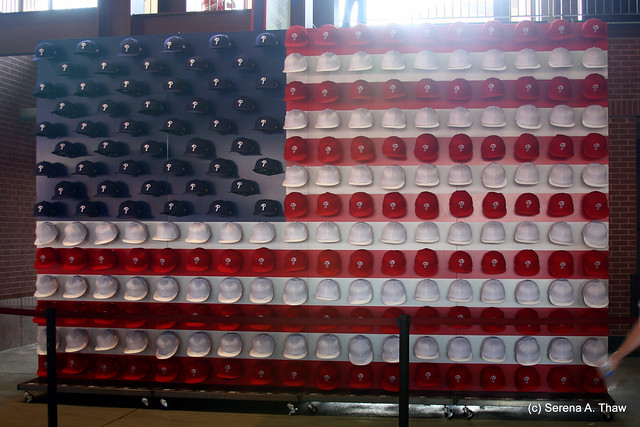 4th of July Cap Display