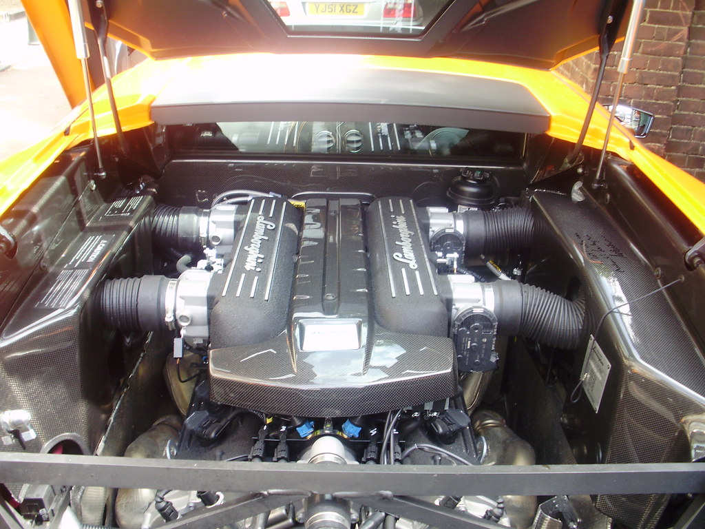Lamborghini Murcielago Lp670 4 Sv Engine Bay Jaimer28 Flickr