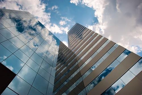 blue sky architecture clouds james virginia downtown day cloudy center richmond skynoir bybilldickinsonskynoircom