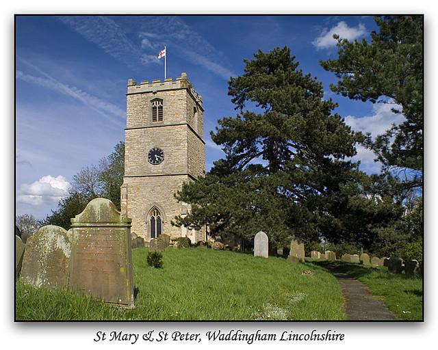 Village church in Lincolnshire