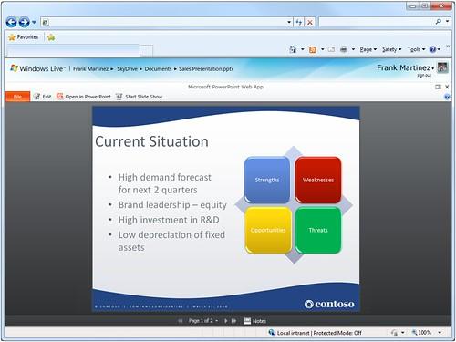 Microsoft PowerPoint Web App   by jeremiah_owyang