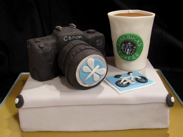 Photographer's Birthday Cake