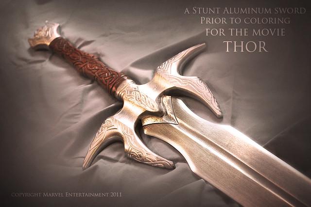 Crafting Heimdall's Sword - aluminum