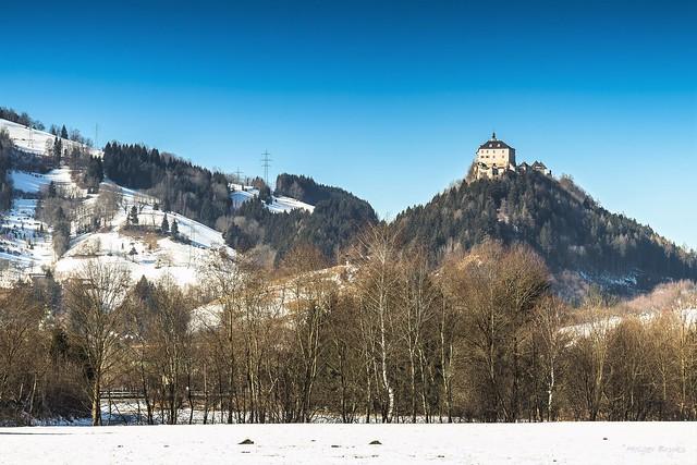 Castle Strechau Winter