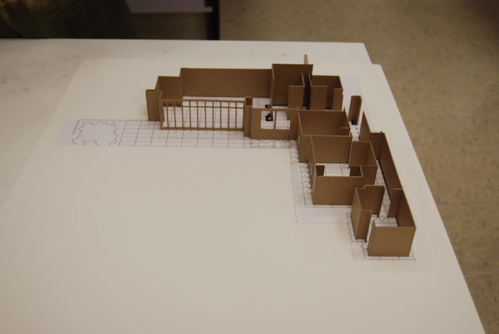 Jacobs House Study Model Study Model By Richard Molina For