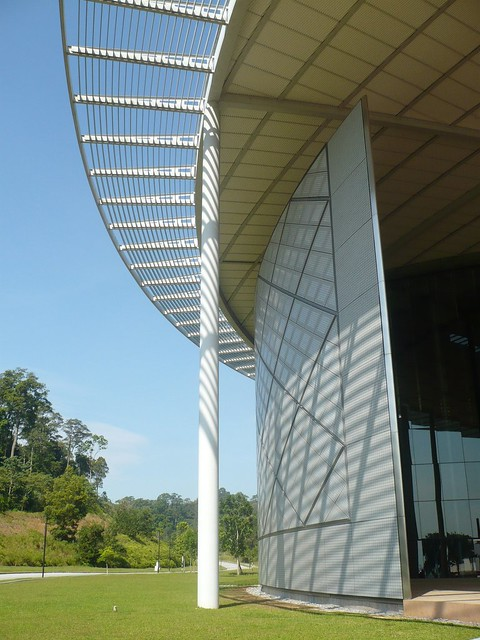 Utp Library2 Perak An Iconic Library Design At