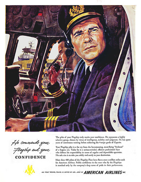 American Airlines- commanding--1949