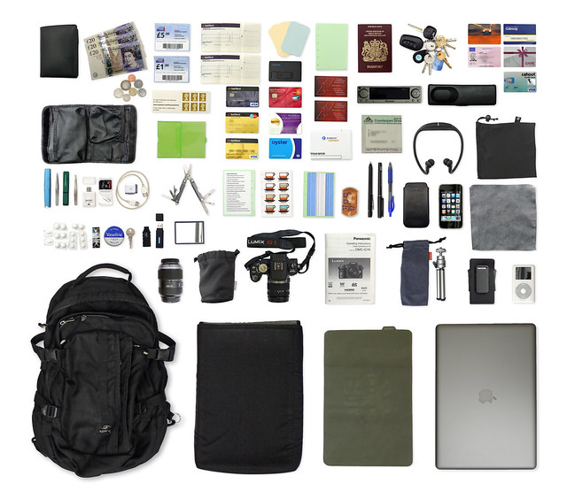 The stuff I carry around, August 2009