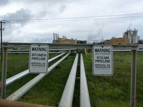 Tar sands developments in Alberta, Canada.   by The Co-operative campaigns