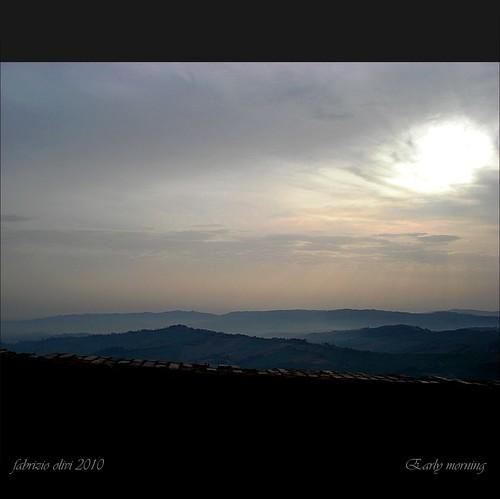 sunrise alba earlymorning fabrizio 2010 mattina presto olivi