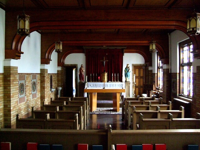 St. Rose of Lima Chapel_Pontifical College Josephinum Seminary, Columbus, OH