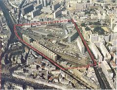 Zac Reuilly Paris 12eme La Zone Entoure En Rouge Etait L Flickr