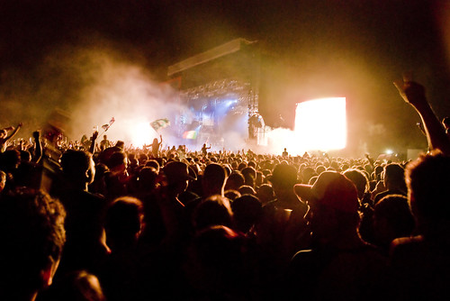 [sziget festival 2009 - day 2] fatboy slim | by opethpainter