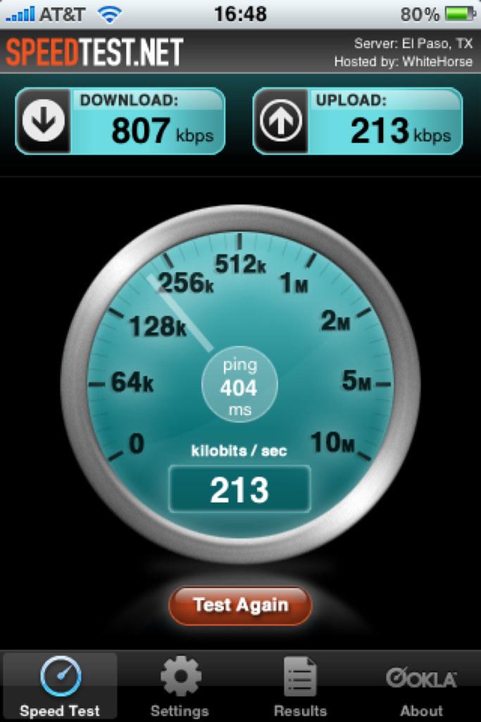 Sprint MiFi speed test screen shot   gt2697   Flickr