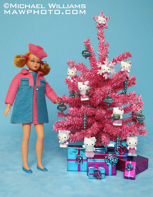 Hello Kitty Christmas Tree.Home For The Dolly Days Hello Kitty Christmas Tree Flickr