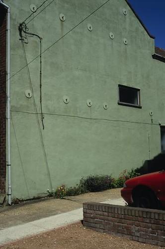 Drab wall