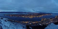 Tromsø at sunset 2 - Panorama
