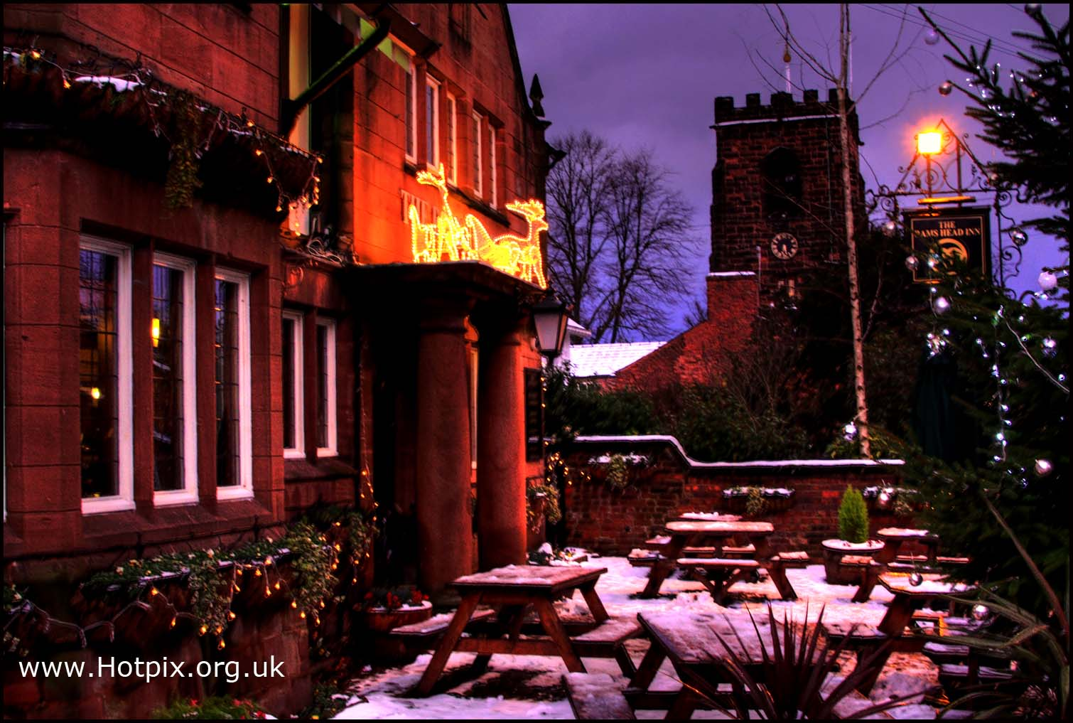Grappenhall,village,rams,head,ramshead,pub,public,house,cobble,cobbled,dusk,snow,winter,warrington,england,cheshire,great,britain,GB,decoration,tony,smith,tonysmith,hotpix,hotpixuk,tdk,tdktony,purple,sky,purple sky,\u96ea,sneeuw,neige,Schnee,\u0441\u043d\u0435\u0436\u043e\u043a,nieve,HDR,high dynamic range,hotpics,hotpic,hotpick,hotpicks,hot,pics,pix,picks,hotpix.freeserve.co.uk,building,buildings,built,architecture,favourite,pubs,houses,noche,nuit