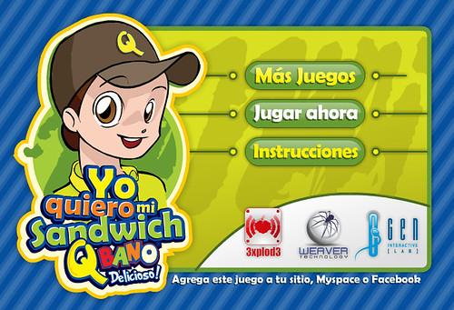 Yo Quiero mi Sandwinch bano  - QDeveloped for: 3xplod3