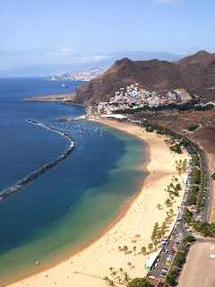 Las Teresitas Beach in Tenerife | by Snapjacs