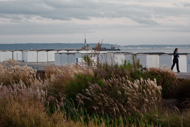9282 - Lieu de promenade Plage du Havre  France