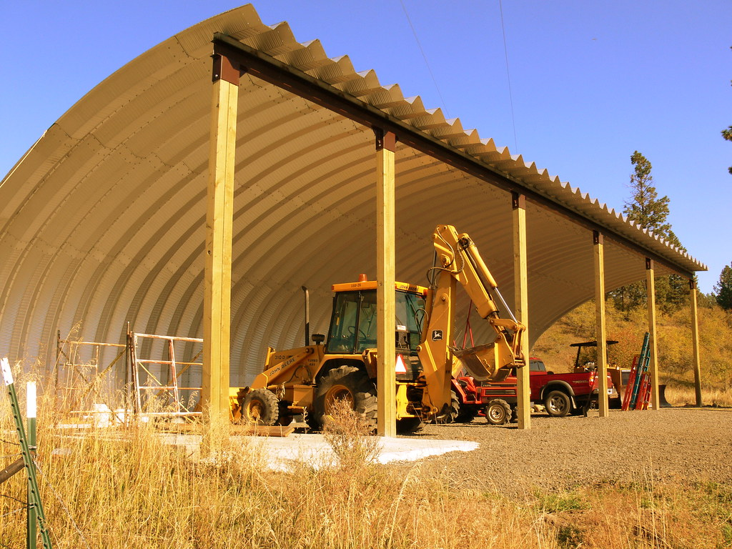SteelMaster Agricultural Equipment Storage | Metal Agricultu… | Flickr