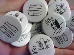 Last second GUTS badges   by Joe List