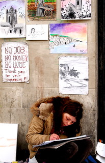 street artist - homeless | by Jax Murphy