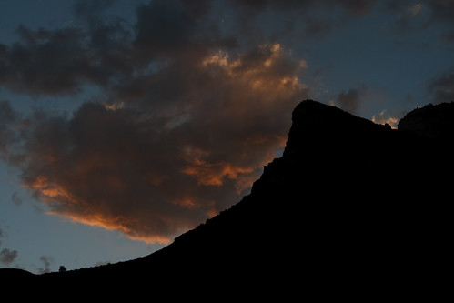 sunset sky usa silhouette clouds sunrise ut provo