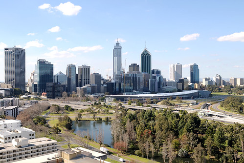 Perth from Kings Park (4/8/2009) | by stusev